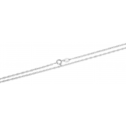 Chaine argent rhodié 2,8g - 55 cm