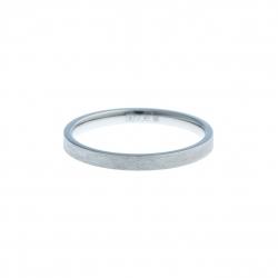 Anneau interne SCREW - acier - finition mate - 2,5 mm - Taille 55 à 65