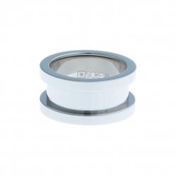 Bague support SCREW - 10 mm - acier Homme/Femme - Taille 52 à 68