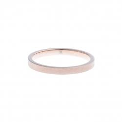 Anneau interne SCREW - acier rosé - finition mate - 2,5 mm - Taille 55 à 65