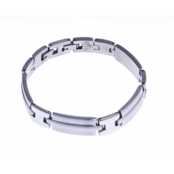 Bracelet acier homme - 21,5cm