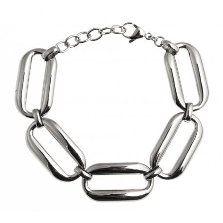 Bracelet acier 19+3,5cm