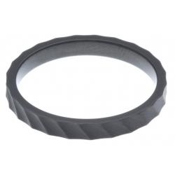 Anneau interne SCREW - acier noir - 2,5mm - T 55 à 65