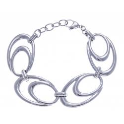 Bracelet acier 18+2,5CM