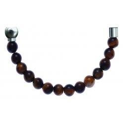 Bracelet combinable - Moitié - œil de tigre 6mm - longueur 10,25cm