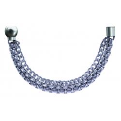 Bracelet combinable - Moitié - chaines - longueur 10,25cm