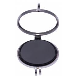 Pierre naturelle pour collier interchangeable Yola - diamètre 20mm - ONYX