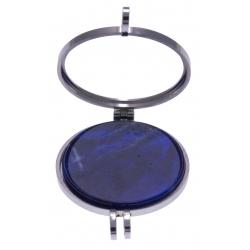 Pierre naturelle pour collier interchangeable Yola  - diamètre 20mm - Sodalite