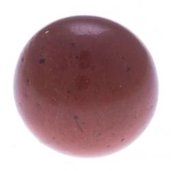 Stilivita - Bille Jaspe rouge  - diamètre 6mm - trou intérieur adapté 1.3mm