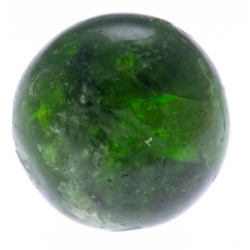 Stilivita - Bille Verdelite (Tourmaline Verte)  - diamètre 6mm - trou intérieur
