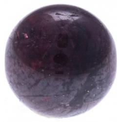 Stilivita - Bille Grenat  - diamètre 6mm - trou intérieur adapté 1.3mm