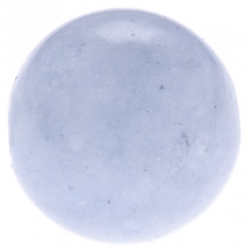 Stilivita - Bille Aigue marine  - diamètre 6mm - trou intérieur adapté 1.3mm