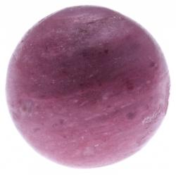 Stilivita - Bille Rhodocrosite  - diamètre 6mm - trou intérieur adapté 1.3mm