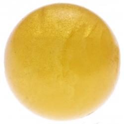 Stilivita - Bille Ambre  - diamètre 6mm - trou intérieur adapté 1.3mm