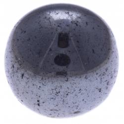 Stilivita - Bille Hématite  - diamètre 6mm - trou intérieur adapté 1.3mm