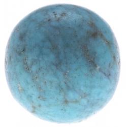 Stilivita - Bille Turquoise  - diamètre 6mm - trou intérieur adapté 1.3mm