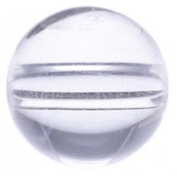 Stilivita - Bille Cristal de roche  - diamètre 6mm - trou intérieur adapté 1.3mm