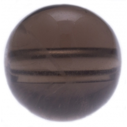 Stilivita - Bille Quartz fumé  - diamètre 6mm - trou intérieur adapté 1.3mm