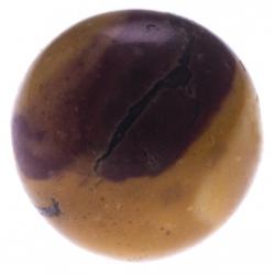 Stilivita - Bille Mookaite (Jaspe)  - diamètre 6mm - trou intérieur adapté 1.3mm