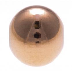 Stilivita - Composant bille acier rosé - diamètre 8mm