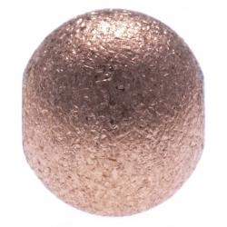 Stilivita - Composant bille acier rosé - diamètre 6mm - finition matt