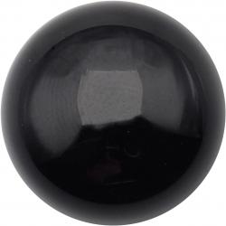 Cabochon pour collier interchangeable Yola - diamètre 20mm - onyx