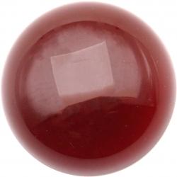 Cabochon pour collier interchangeable Yola - diamètre 20mm - agate rouge