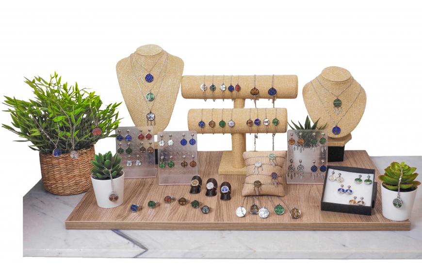 Collection YOLA Printemps / Été 2021 - pierres naturelles ésotérique
