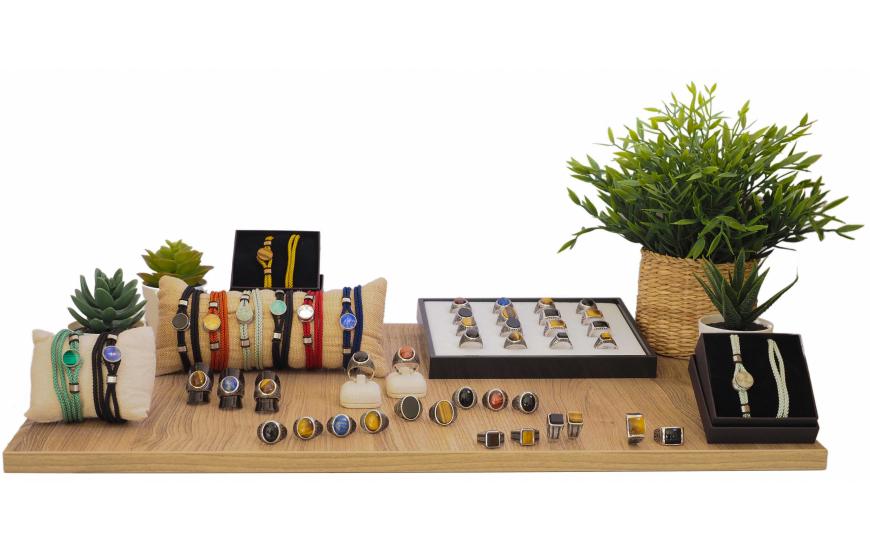 Collection YOLA Printemps / Été 2021 - bijoux homme pierres naturelles