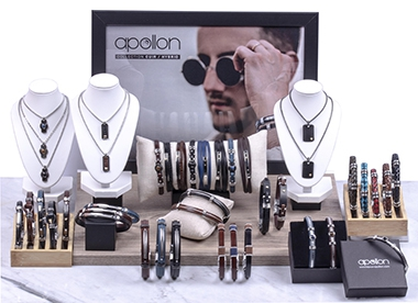BIJOUX HOMME APOLLON - COLLECTION CUIR